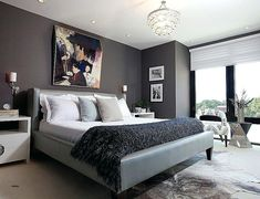 Cool bedroom color schemes likeable innovative ideas masculine bedroom colors must on masculine color schemes bedrooms Small Room Bedroom, Gray Bedroom, Home Decor Bedroom, Male Bedroom, Bedroom Furniture, Grey Room, Charcoal Bedroom, Trendy Bedroom, Furniture Ideas