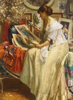 The Japanese Print - Fernand Toussaint 1913