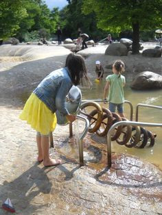 Photo: Frode Svane. Sara. Water play area in Britzer Garten - Berlin: https://www.facebook.com/svane.frode/media_set? Waterinstallations for Kids: https://www.facebook.com/svane.frode/media_set?set=a.408233149238600.92911.100001557546378&type=1