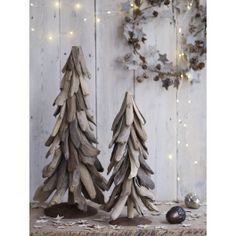 Driftwood Christmas Trees NEW