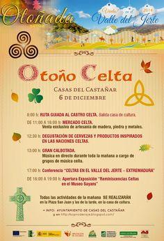 Otoño Celta (6 de diciembre en Casas del Castañar) http://soprodevaje.blogspot.com.es/ OTOÑADA en el Valle del Jerte