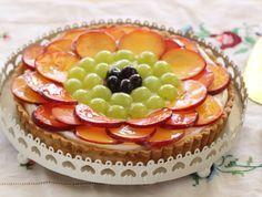טארט פירות קיץ (צילום: חן שוקרון ,אוכל טוב)