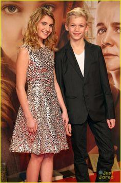 Sophie Nélisse & Nico Leirsch. The Book Thief!!! Amazing Movie