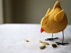 sweet felt chicken