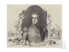 Portrait of the Duke of Wellington Giclee Print at Art.com