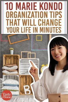 10 Marie Kondo Organization Tips That Will Change Your Life in Minutes . 10 Marie Kondo Organization Tips Organisation Hacks, Kitchen Organization, Organizing Tips, Clutter Organization, Closet Organization Tips, Small Bedroom Organization, Organization Station, Organization Ideas For The Home, Project Life Organization