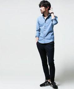 きれいめからカジュアルまで!メンズのデニムシャツ春コーデ - NAVER まとめ