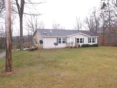 8800 ARNOLD LK. RD.  Sharp kept like new, 1998 Modular with 3 bdrms., 2 baths, deck, full partial finished basement, 2 car garage, mostly furnished & secluded off the Rd. On 3.4 acres with beautiful stocked trout pond. RED $129,500.  MLS 164814