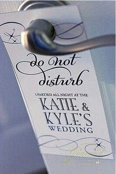 Funny and creative wedding favor...particularly helpful for the day after wedding celebrations! #UnlimitedRomance