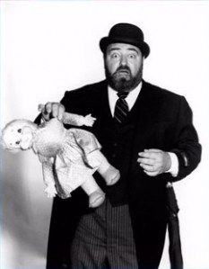 Sabastian Cabot as Mr. French ~ truly a Gentlemen's Gentlemen. I think he must be America's favorite bearded, well-dressed, proper edict gentleman.  (7/6/1918-8/22/1977)
