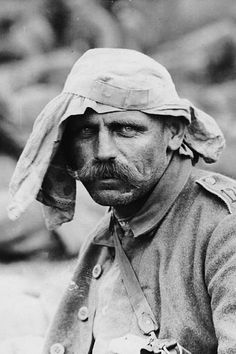 Portraits of German prisoners. | The Most Powerful Images Of World War I