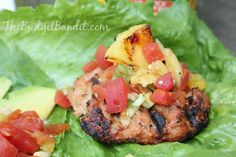 Grilled Pineapple Salsa #Recipe