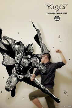 Illustrations : comics et réalité s'entremêlent