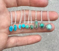 New Necklaces Available Now. #turquoise #kingman #royston #necklace #handmade #jewelry