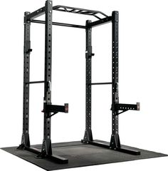 Pick up ETHOS Power Rack today with DICK'S Free Contactless Curbside Pickup! Home Gym Garage, Gym Room At Home, Basement Gym, Dream Home Gym, Basement Storage, Power Rack, Gym Rack, Half Rack, Gym Machines