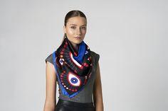 Midnight Rider #tukutukum #silk #scarf