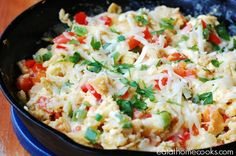 Migas - My new favorite way to eat scrambled eggs