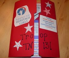 Joining Award Lapbook; we did this with our Tenderheart group this year, and while it was a blast and the girls loved it, it was exhausting to do with 16 girls! If you do it, enlist LOTS of help!