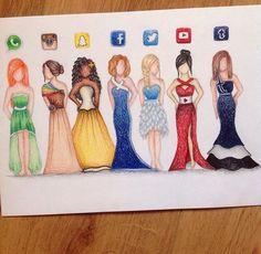 App dresses part 1