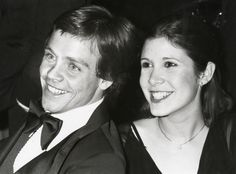 Mark Hamill and Carrie Fisher