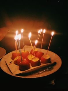 Because i have the coolest friends ever, i wished on 21 candles on this very unorthodox birthday 'cake'   christyl   VSCO Grid