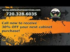 Call now to receive 30% OFF your next custom cabinet purchase in Denver!