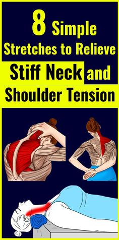 8 Stretches to Relieve Stiff Neck and Shoulder Tension…,., 8 Stretches to Relieve Stiff Neck and Shoulder Tension…,., Pin: 563 x 1120 Reto Fitness, Sport Fitness, Health Fitness, Workout Fitness, Yoga Fitness, Fitness Tips, Shoulder Tension, Neck And Shoulder Pain, Neck And Shoulder Stretches