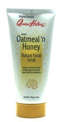 Queen Helene Oatmeal N Honey Natural Facial Scrub 6 oz Tube 3Pack with Free Nail File -- You can find out more details at the link of the image.(This is an Amazon affiliate link and I receive a commission for the sales)