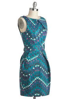 Stroke of Genius Dress, #ModCloth ..i want this something fierce