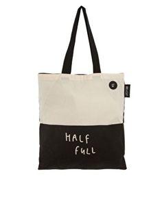 Half Empty - Half Full Shopper