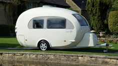 Egg-Shaped Caravans