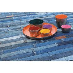 Χαλί Μπλε Denim 170X240 Ντένιμ! Ένα διαχρονικό ύφασμα που δεν θα βγει ποτέ από τη μόδα και ήρθε η στιγμή να ενσωματωθεί στη διακόσμηση του σπιτιού σας. Υλικό: cotton. Picnic Blanket, Outdoor Blanket, Union Jack, Contemporary, Rugs, Home Decor, Style, Farmhouse Rugs, Swag