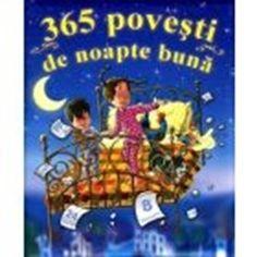 365 povesti de noapte buna - Varsta 2+; O carte exceptionala. Aceasta carte va daruieste cate o poveste de nopate buna pentru fiecare seara a anului. Insotiti-i pe Tomita si pe Lulu din 1 ianuarie pana pe 31 decembrie si descoperiti ce aventuri extraordinare traiesc ei zilnic. Fiecare poveste din acest volum este minunat ilustrata, astfel incat sa stimuleze imaginatia copilului dumneavoastra. O carte pe care copilul o va dori in fiecare seara.