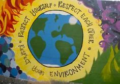 Respect each other, Respect your environment, Respect yourself
