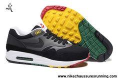 Noir Gris Nike Air Max 87 2013 New Hommes Chaussures