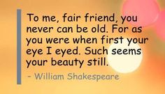 shakespeare+quotes+about+beauty | Beauty #quote from William Shakespeare