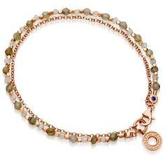 Astley Clarke Labradorite Mini Halo Biography Bracelet