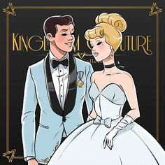 Cinderella and Charming are looking royal as always, the dreamy light blue in there garments is making me feel nostalgic 💖🎀✨👑 Disney Nerd, Disney Fanatic, Arte Disney, Disney Marvel, Disney Fan Art, Funny Disney, Disney Dream, Disney Style, Disney Love