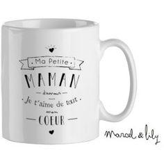 "Mug "" Ma petite maman d'amour"""