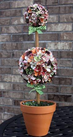 Paper Topiary #BoBunny