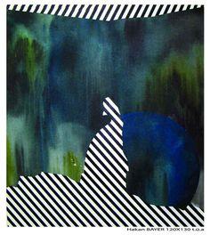 "Saatchi Online Artist: Hakan Bayer; Acrylic, 2012, Painting ""Unbalanced Conversion 3"""