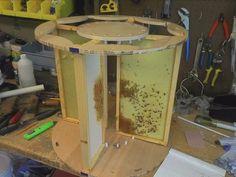 Home Built Honey Extractor Honey Extractor, Bee Hive Plans, Beekeeping Equipment, Bee Supplies, Raising Bees, Bee Boxes, Busy Bee, Bees Knees, Queen Bees