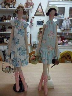 More Tilda dolls by Annie Vlielander
