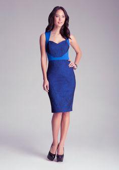 Auriella Bonded Dress