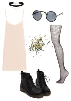"""""""Tour Outfit 8: Ellie Rowsell Inspired"""" by slendergraspongrammar ❤ liked on Polyvore featuring Topshop, Raey and ASOS"""