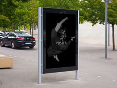 This is a cllection of the best free billboard mockup psd for the presentation of branding and advertising design in a realistic way. Simple Poster Design, Minimalist Poster Design, Billboard Mockup, Billboard Design, Exterior Signage, Outdoor Signage, Hanging Posters, Advertising Poster, Advertising Design