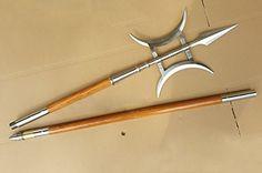 Halberd,Fang Tain Ji(Stainless steel hand-made,Two wood r... https://www.amazon.com/dp/B06W5WGHNR/ref=cm_sw_r_pi_dp_x_pYARybG33YKY7