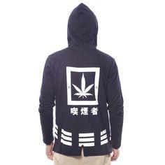 Camiseta Hemp Longsleeve Negra - Camisetas - Hombre www.ebolet.com #ebolet #camiseta #urbana #street #chico