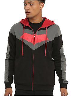 This Arkham Knight hoodie! // DC Comics Batman Arkham Knight Red Hood Hoodie