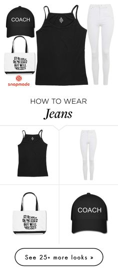 """be happy"" by j-n-a on Polyvore featuring Topshop"